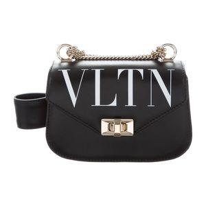 Valentino VLTN Chain Link Crossbody Bag